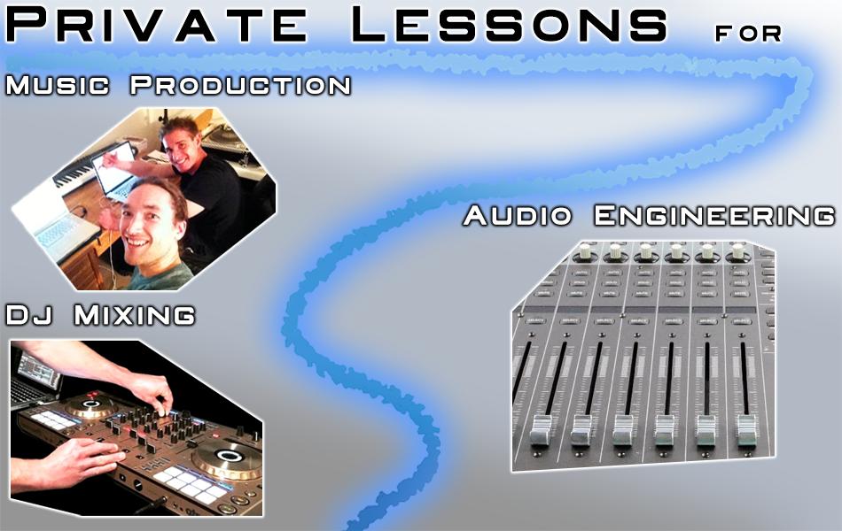 DJ Sound & Lighting, music production private lesson