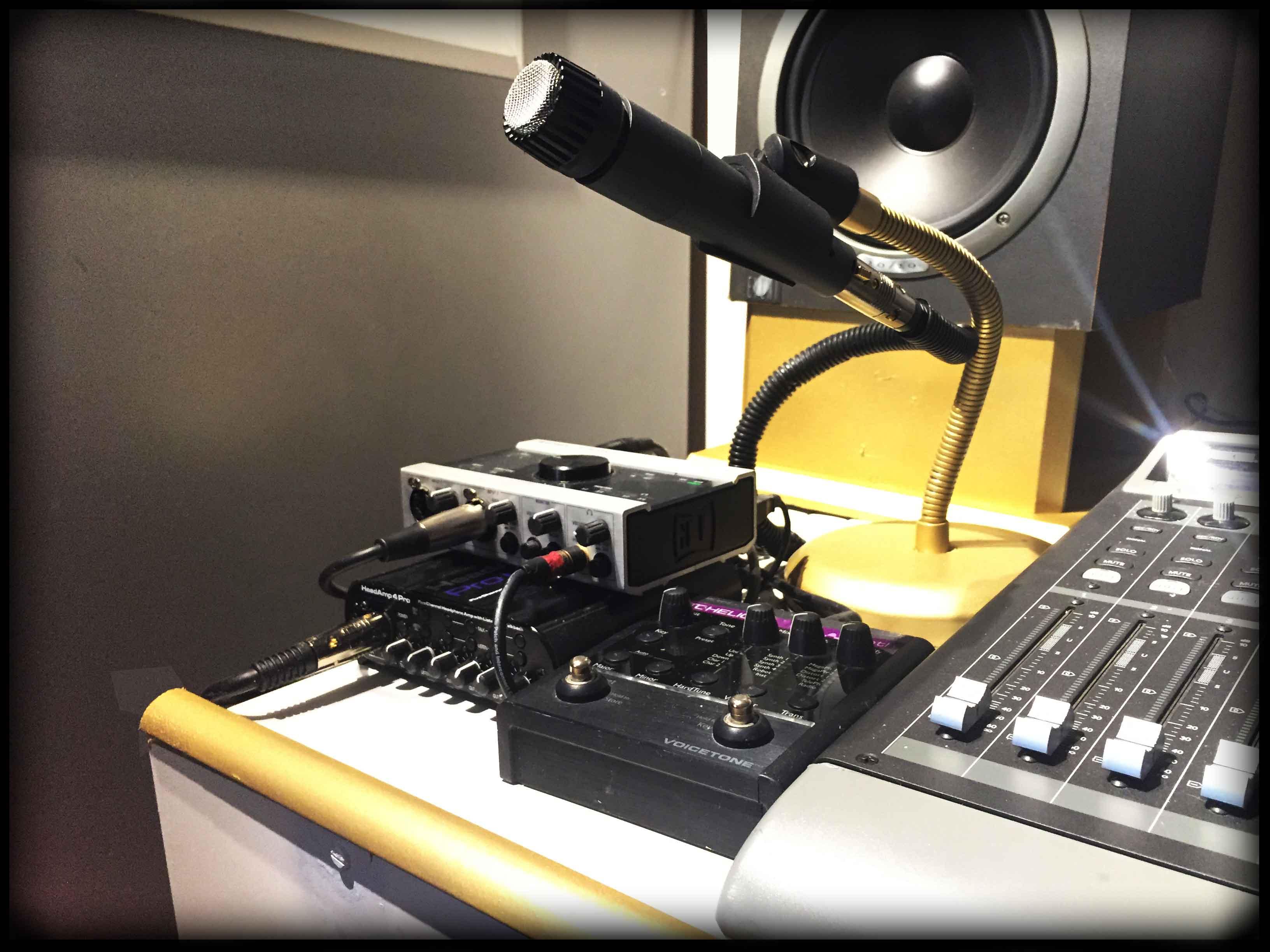 DJ Sound & Lighting, pasadena, recording studio, narration, ADR, voice over work, professional audio