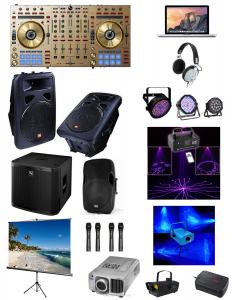 DJ Sound Lighting, DJ Services, Lighting, Pasadena DJ, Rancho Palos Verdes DJ, Los Angeles DJ, Nightclub DJ, Rave DJ, Music Festival, DJ Equipment